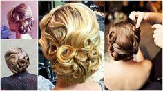 Znalezione obrazy dla zapytania fryzura retro z opaską