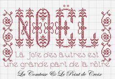 La Comtesse & Le Point De Croix: schemi free