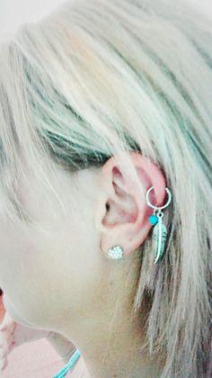My ear piercing