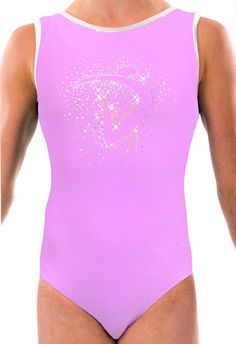 """Our classic """"Di Burst"""" on a lavender lycra base, with silver binding! Ballet Leotards For Girls, Dance Leotards, Gymnastics Leotards, Dance Class, Fall Collections, Dna, Lavender, One Piece, Swimwear"""