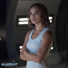 Christina will always fight for what is right.  #Allegiant