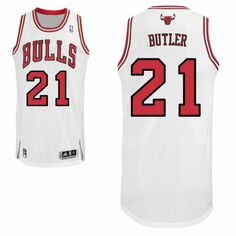 38d509bc46b Mens Chicago Bulls White Custom Authentic Home Jersey Real Madrid 2014