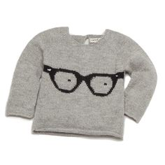 Oeuf glasses sweater.