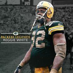 Packer Legend, Reggie White.