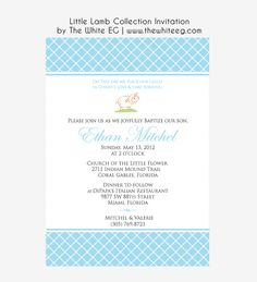 Baptism adult invitation