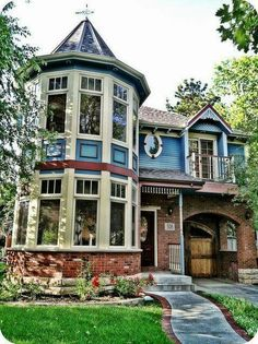Queen Anne Victorian in Ft. Collins, CO