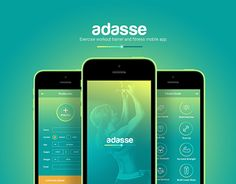 """Check out this @Behance project: """"Adasse: Gym workout mobile app design"""" https://www.behance.net/gallery/26569285/Adasse-Gym-workout-mobile-app-design"""