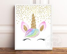 Check out our nursery unicorn wall art selection for the very best in unique or custom, handmade pieces from our digital prints shops. Unicorn Names, Unicorn Wall Art, Unicorn Painting, Unicorn Rooms, Unicorn Head, Unicorn Poster, Unicorn Decor, Unicorn Pics, Unicorn Bedroom Decor