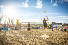 Beach Volley Finnish National Championships culminates the Beach volley summer. Super popular final tournament is played in Jyväskylä harbour. Photo: City of Jyväskylä. National Championship, Events, In This Moment, Popular, City, Beach, Fitness, Sports, Summer