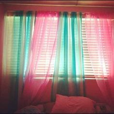 Mix and match your sheer curtains.