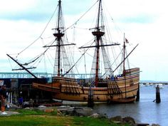 The Mayflower in Plymouth, Massachusetts
