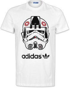 Adidas Star Wars D T-shirt white