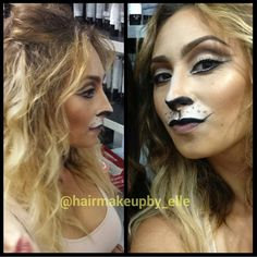 halloween - lion - lioness - sexy - tousled -#hairmakeupby_elle at JoLsalon - point loma - san diego - liberty station - balayage - highlights - makeup - bridal - wedding - bridesmaids - updo - up-do - mua - sdmua - muasd - hmua - makeup artist - hairstylist - blowdry bar - color - sd - ombre - blonde - brunette - longhair - short - rooty blonde - eyebrows brows - bar - beauty - waxing - mens - womens - grooming - before - after   www.jolsalon.com T619.501.4469