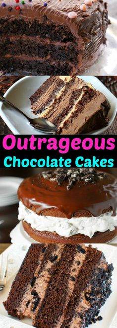 16 Outrageously Delicious Chocolate Cakes!