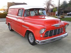 """1956 Chevrolet Panel Truck  This is a complete frame off restoration -- completed just. 4 yrs. Ago I am asking $38,000 OBO there is over $60,000 invested plus lots personal time.  Buffalo Restoration -- Paint and Body Paul's Classics, OR -- Motor/Power train  - 396 Big Block -- bored over (400 plus HP) - Turbo 400 Trans - Ford 9"""" rear end - Front end designed bolt on kit -- not clip (frame not cut) - independent Suspension - Disc brakes, R/P steering"""