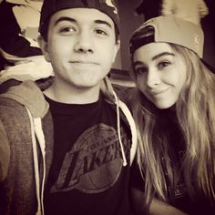 Sabrina Carpenter & Bradley Steven Perry