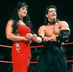 I loved when EDDIE GUERRERO AND CHYNA were together.