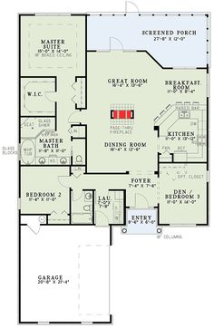Stylish plan for a narrow lot hwbdo69203 bungalow for Attached garage plans with bonus room