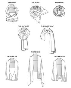 Soma Fine Fleece 8 Way Travel Wrap Drawing Tips, Drawing Reference, Scarf Drawing, Pose Reference, Fashion Mode, Fashion Tips, Fashion Trends, Fashion Hacks, Urban Fashion