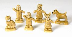 Wade Gingerbread Whimsies - set of 6