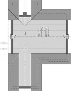 Projekt domu Simon energo plus - koszt budowy 239 tys. Bar Chart, Floor Plans, Architecture, House, Jasmine, Home Decor, House 2, Bedrooms, Arquitetura
