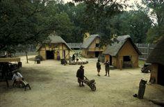 Jamestown Settlement Fort in Jamestown, Virginia