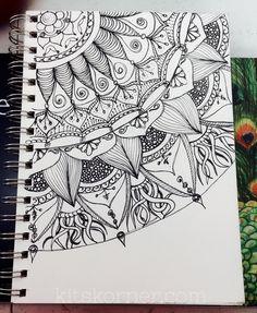 Sketchbook : Open Composition Mandalas @ kitskorner.com
