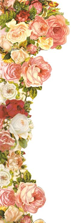 roses roses roses by jinifur.deviantart.com on @deviantART - Polo has tons of wonderful vintage art printables!!!