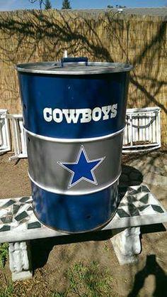 #DIY Cowboys Barrel