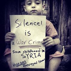 Stop the war in Syria!!