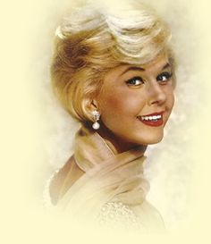 Doris Day.  One of my favorite actresses.  Loved those old movies of hers.