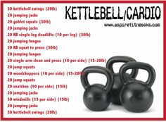 Cardio just burns a particular number of calories per step or arm motion. Which … Cardio just burns a particular number of calories per step or arm motion. Which suggests that the only way you can burn more calories per… Continue Reading → Crossfit Kettlebell, Kettlebell Challenge, Kettlebell Training, Kettlebell Swings, Kettlebell Deadlift, Wod Workout, Gym Workouts, At Home Workouts, Workout Exercises