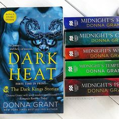 Do you ever get hooked on a series only to find out it ties in to a bunch of previous books?  So I've been bringing the Dark Kings series by Donna Grant and I'm hooked! But I realized some of the characters felt like they'd had previous stories I missed.  Turns out there's 14 books worth of stuff in this world   So working on slowly buying the previous 2 series so that I can go back and read them next!  The things we do because of books