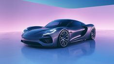 This Intricately-Designed Porsche 988 Vision Rendering Is A Digital Wet Dream You Don't Want To Wake Up From - Cars - Autos Volkswagen, Electric Sports Car, Tesla Roadster, Toyota Mr2, Porsche 918, Automobile Industry, Latest Cars, Car Engine, Automotive Design