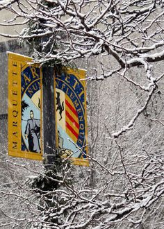 """I love winter at Marquette University."" Wanna go!"