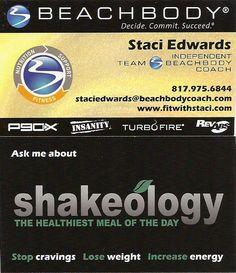Beachbody Business Cards Beachbody Pinterest Beachbody
