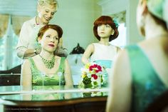 Unwed Woman Takes Photos With Mannequin Family Over 14 Years | Bored Panda