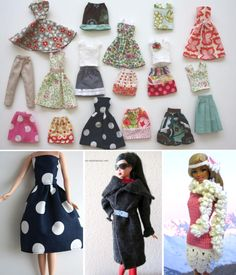 handmade doll clothes ..roundup