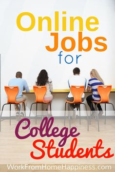 Here's a list of College Student Jobs Online from legitimate sources. Learn the Legitimate College Student Jobs Online!