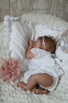 BCN ~ Baby reborn doll / Caroline by Tina Kewy ~ Slumberland mohair ~ IIORA | eBay