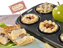 Looking to make the cutest treats for any occasion? This C&H® Sugar recipe for Shortbread Apple Bars or Cups will make about 16 yummy bars or cups.