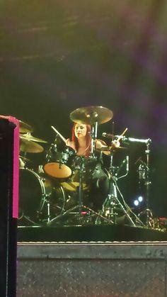 Jen Ledger from Skillet (Third Day & Skillet tour 2014 in Reading Pennsylvania) Reading Pennsylvania, Jen Ledger, Three Days, Skillet, Third