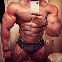Stunning bodybuilding mass.