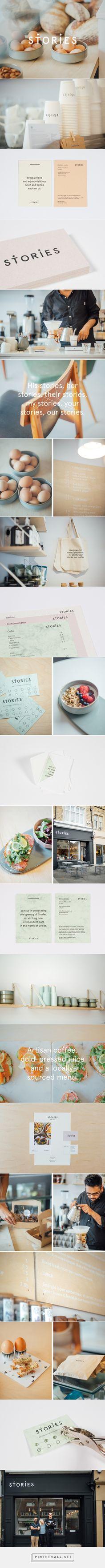 Stories on Behance - cafe branding, restaurant branding, visual identity, brand design, modern, contemporary #branding