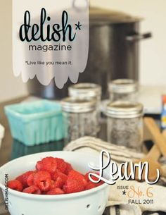 New Fall Delish is up!! Please come and read!