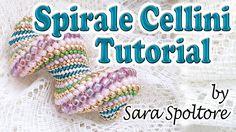 Tutorial spirale Cellini - Come fare bracciale collana con la spirale Ce...