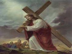 JEZUS en MARIA Groep.: HET DRAGEN VAN EEN KRUIS