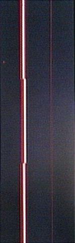 Ritmo ca. 1979 | Lothar Charoux acrílica sobre papel 99.00 x 35.00 cm