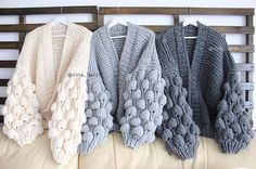 Best 12 Crochet Fashion Lana Knitting Patterns Photo And Video Cute Outfits Pullover Blanket Knitwear Diy Crafts – Page 600949144000127423 – SkillOfKing. Gilet Crochet, Crochet Coat, Crochet Clothes, Knitting Patterns, Crochet Patterns, Crochet Fashion, Cardigans For Women, Baby Knitting, Free Knitting