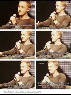 Tom Felton is awesome